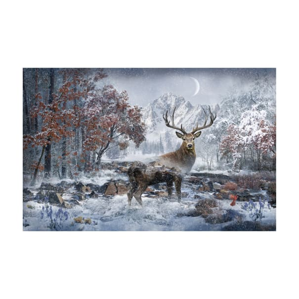 "Hoffman Digital Call Of The Wild 29"" Deer Panel December"