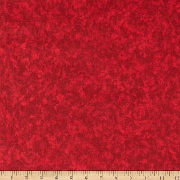 """108"""" Wide Cotton Blenders Cayenne"""