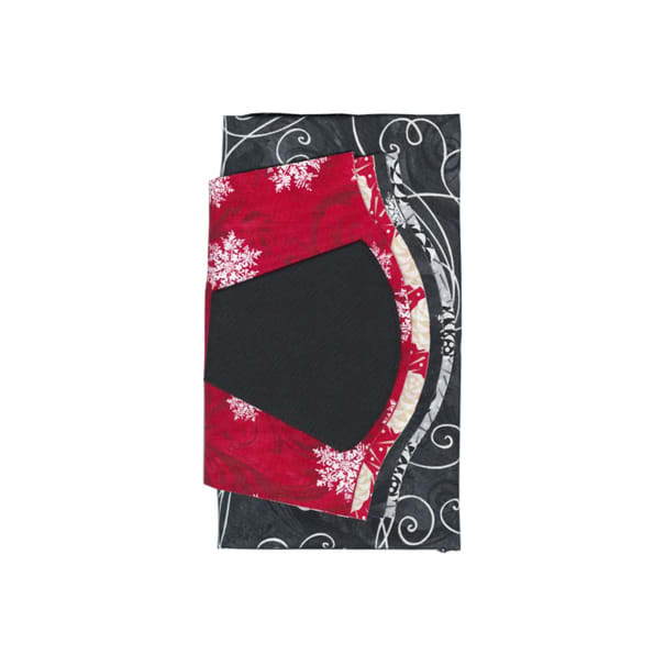 """Fabric.com Christmas Dresden Plate 40"""" Kit Multi - Exclusive"""