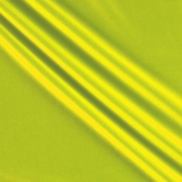 Activewear Spandex Stretch Knit Solid Neon Yellow