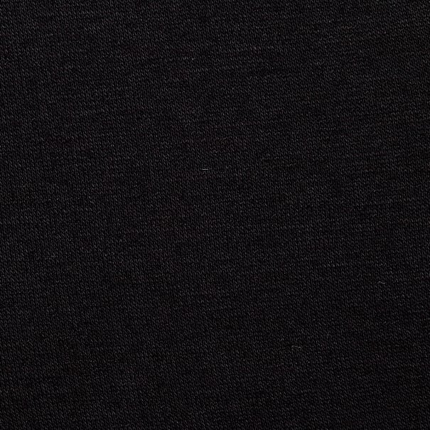 Jersey Knit Solid Black