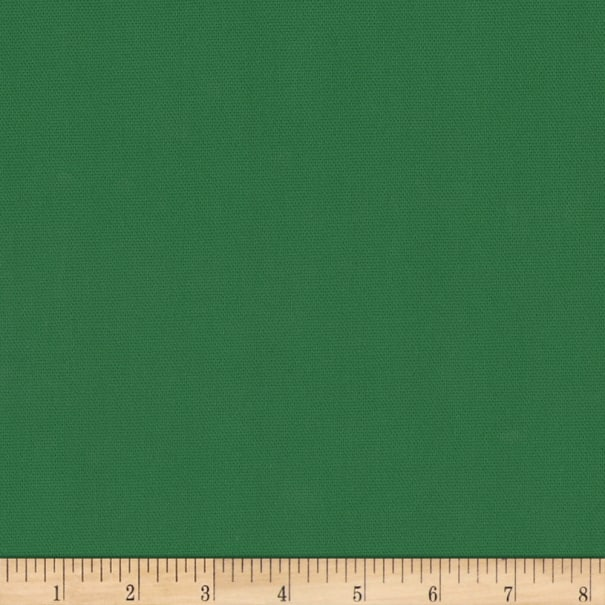 Kaufman Big Sur Canvas Solid Emerald