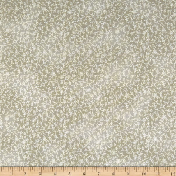 Kaufman Mayfield Branches Taupe Fabric Com