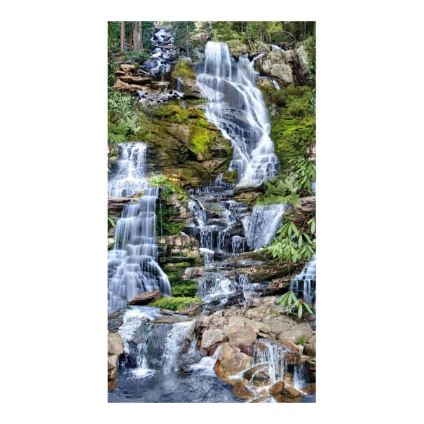 "Timeless Treasures Chasing Waterfalls 24"" Panel Multi"