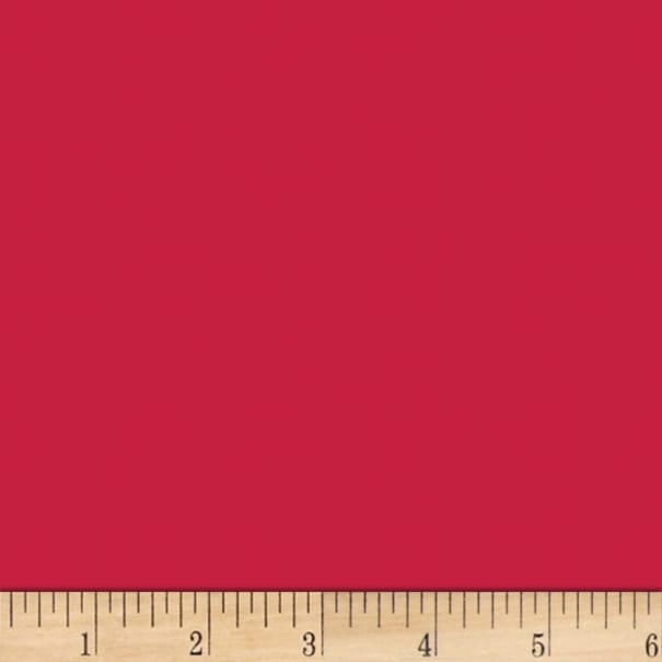 Tremode Solid Poly/Cotton Broadcloth Real Red
