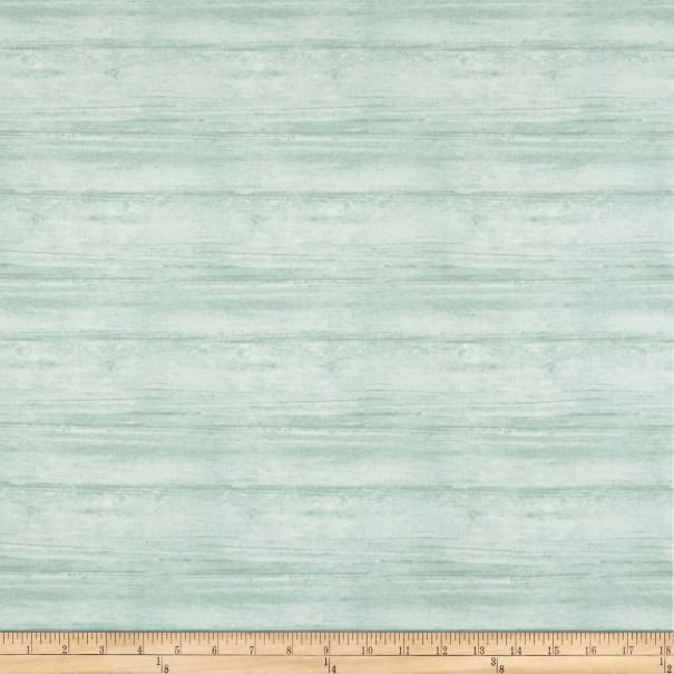 Contempo Words to Live By Washed Wood Turquoise