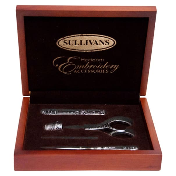 Sullivans Heirloom Embroidery Accessories Box