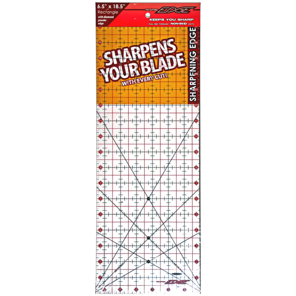 "Sullivans Clear Ruler 6.5"" X 18.5"""
