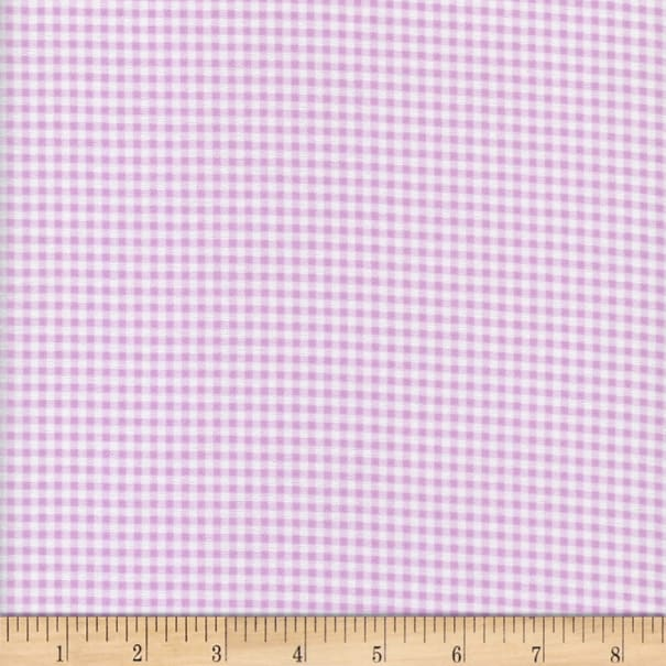 Flannel Gingham Lilac