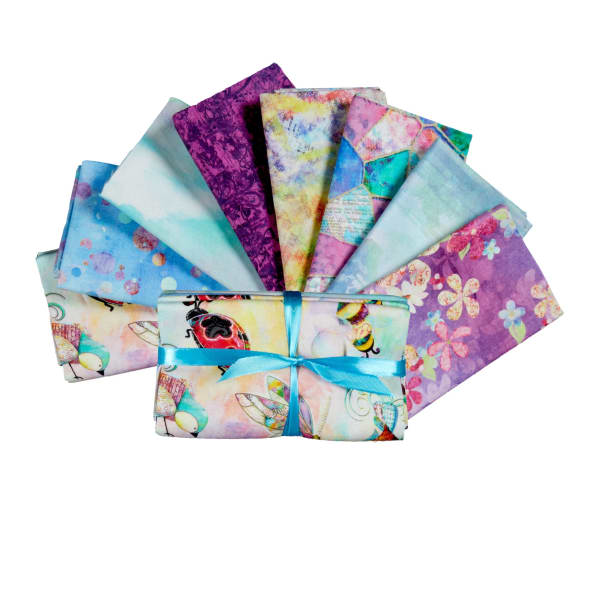 Fabric Editions In The Meadow Bundle, 8pcs.
