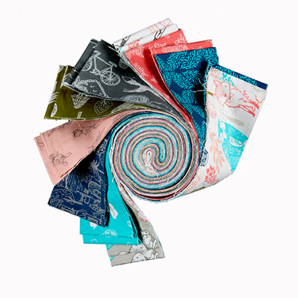 """Fabric Editions Little Thicket 2.5"""" Strips, 20 pcs."""
