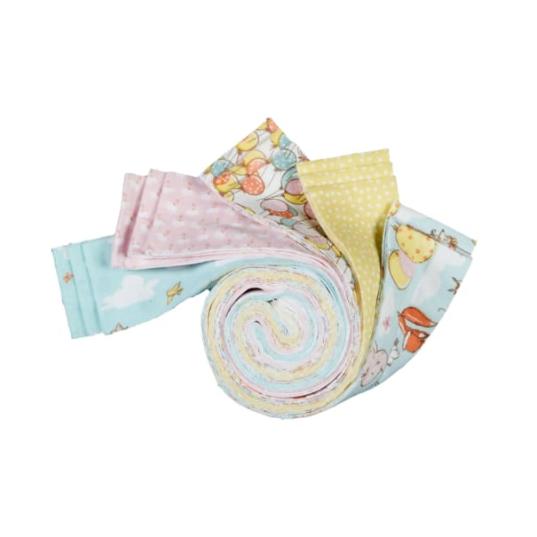 """Fabric Editions Playful Cuties 3 Flying High 2.5"""" Strips, 15 pcs."""