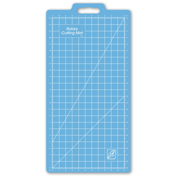 """June Tailor 11"""" x 23"""" Grid - Rotary Cutting Mat"""