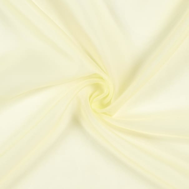 """118"""" Sheer Voile Maize"""