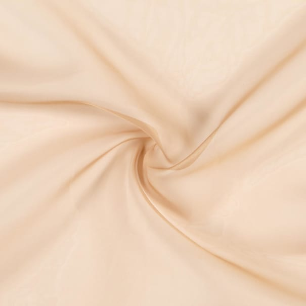 "118"" Sheer Voile Camel"