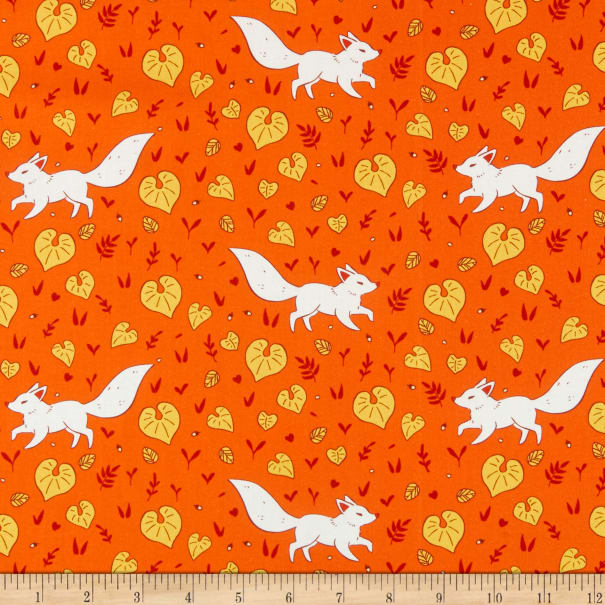 Windham Forest Spirit Kitsune Persimmon