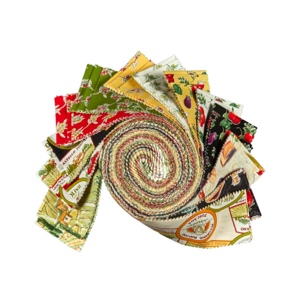 "Windham Bella Toscana 2.5"" Strips Multi 40pcs"