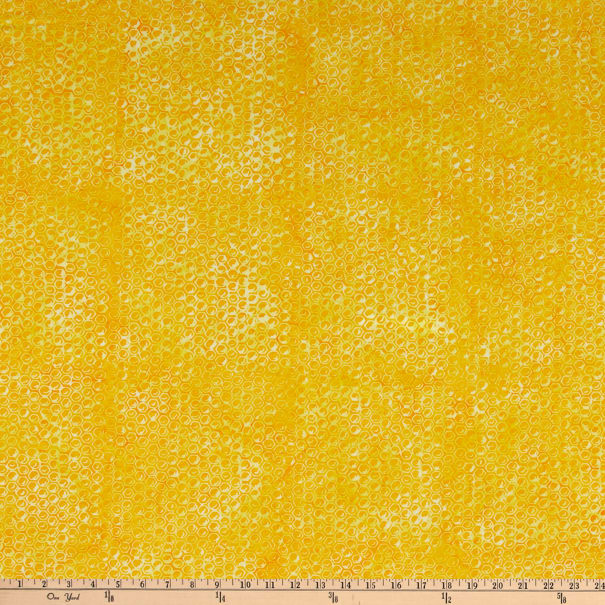 Anthology Batik Queen Bee Honeycomb Amber