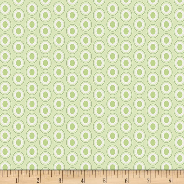 Art Gallery Oval Elements Sugar Green