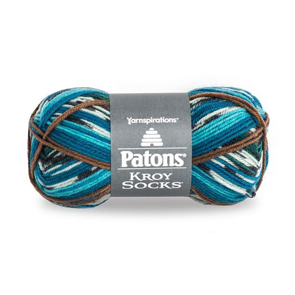 Patons Kroy Socks Yarn, Route 66