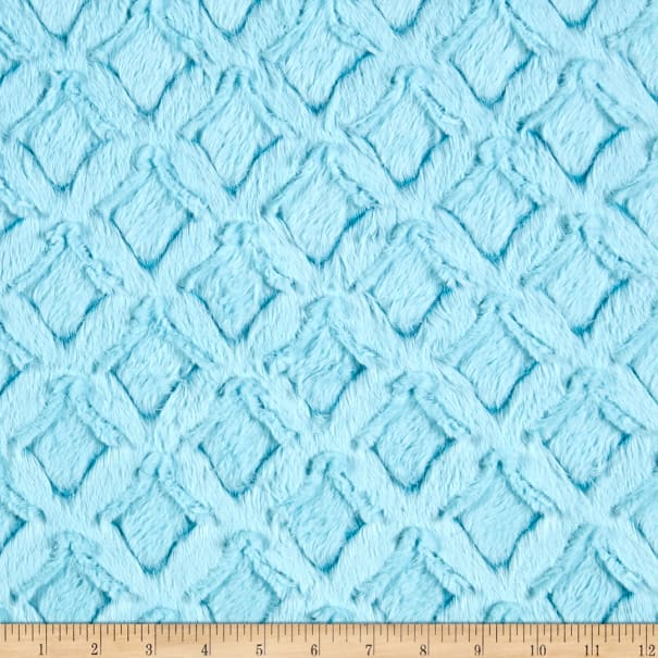Shannon Minky Luxe Cuddle Frosted Gem Teal/Aqua