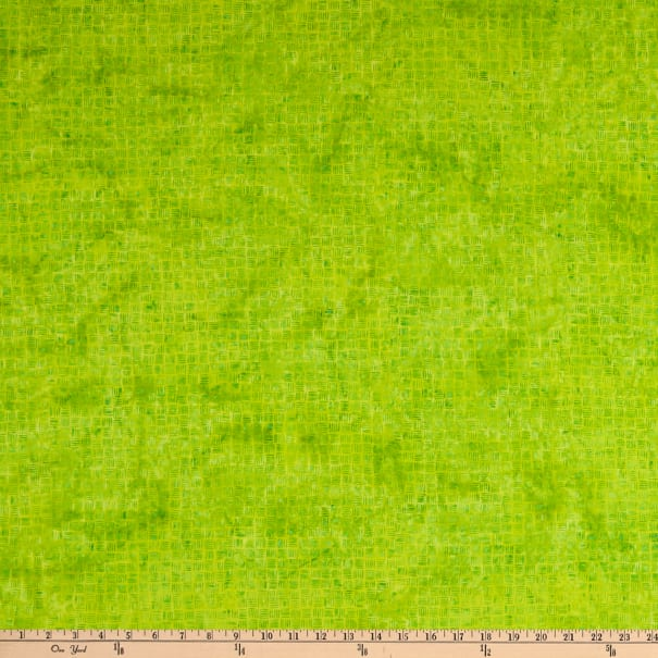 Island Batik Tweet Lemon Lime Dash