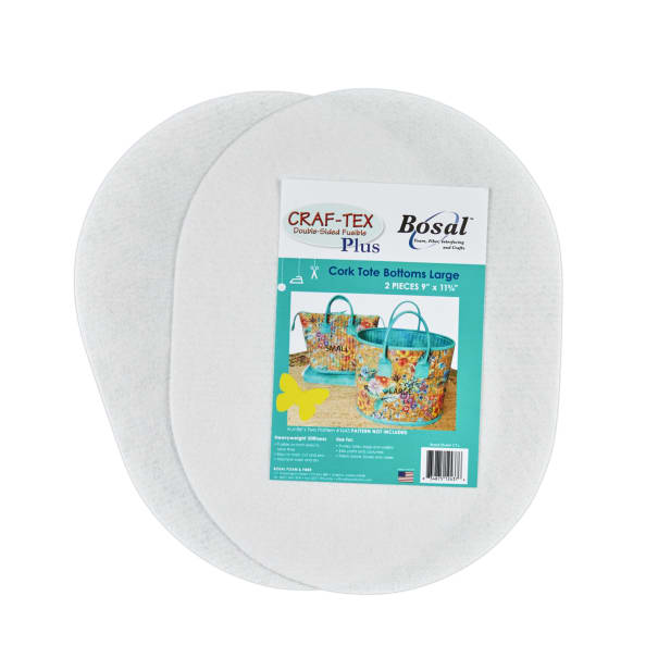 """Craf-Tex Plus stiff Non-Woven Double-Sided fusible 11.75"""" Stabilizer"""