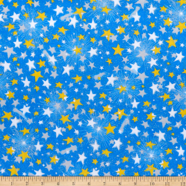 Comfy (R) Flannel Print Shooting Stars