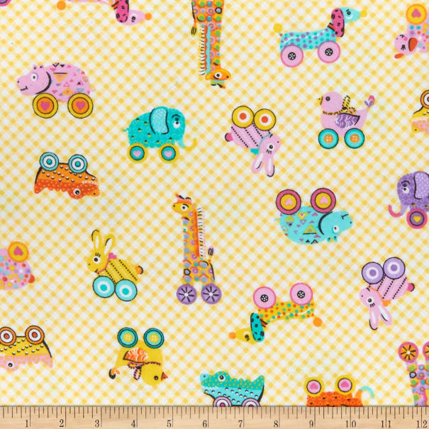 Comfy (R) Flannel Print Baby Toys
