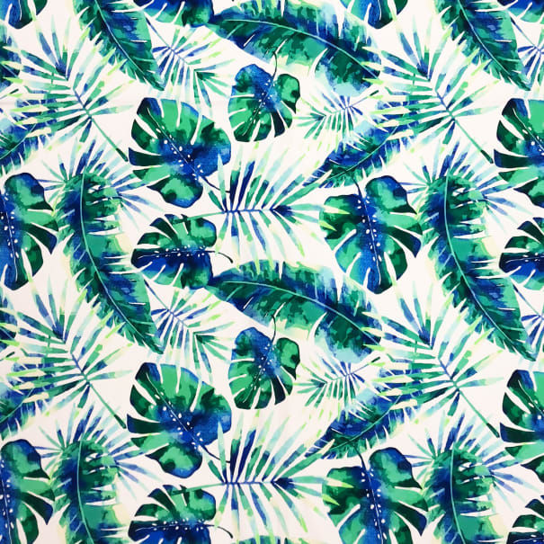 Pine Crest Athletic Stretch Knit Watercolor Tropic