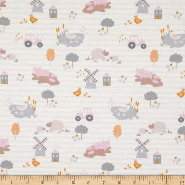 E.Z. Fabric Exclusive Polyester Jersey Knit Farm House Cream