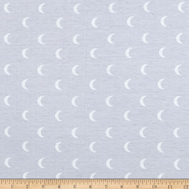 E.Z. Fabric Exclusive Polyester Jersey Knit Baby Luna Gray