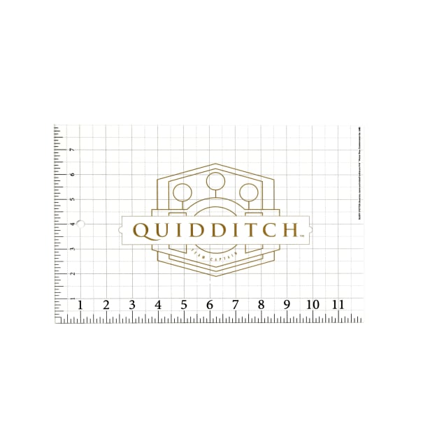 Harry Potter Ruler Quidditch Gold
