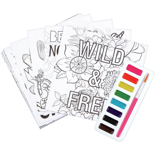 Chill Out & Craft Watercolor Kit
