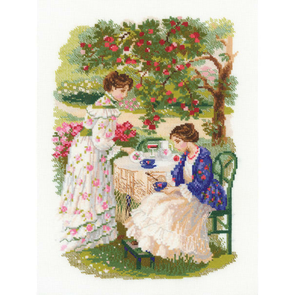 "RIOLIS Counted Cross Stitch Kit 11.75/""X15.75/""-The Russian Country Estate 14 Cou"