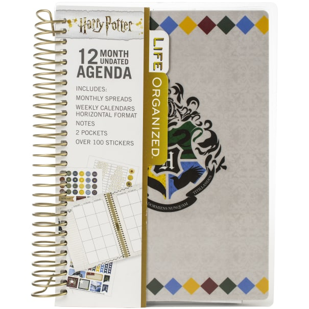 Paper House Harry Potter 12 Month Mini Planner