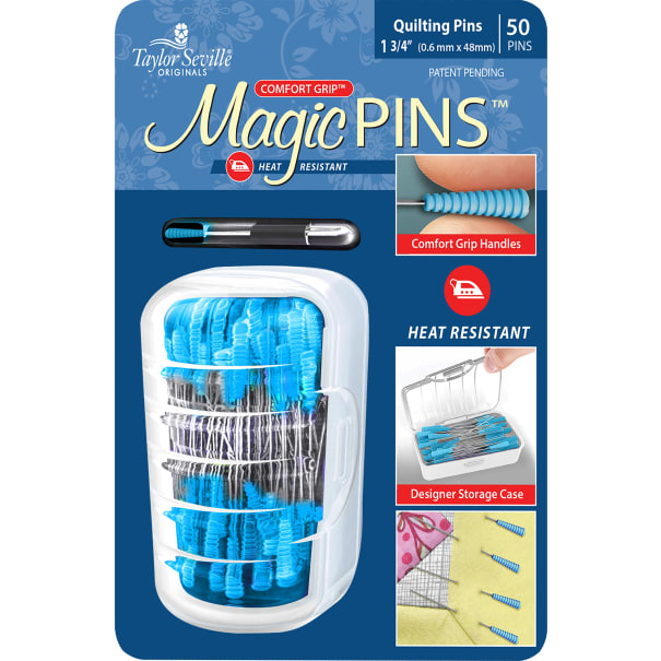 Taylor Seville Magic Pins-50/Pkg