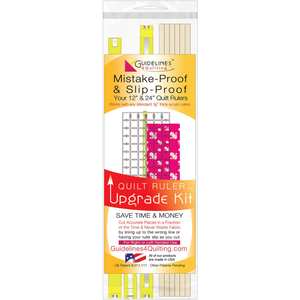 Guidelines4quilting Quilt Ruler Upgrade Kit