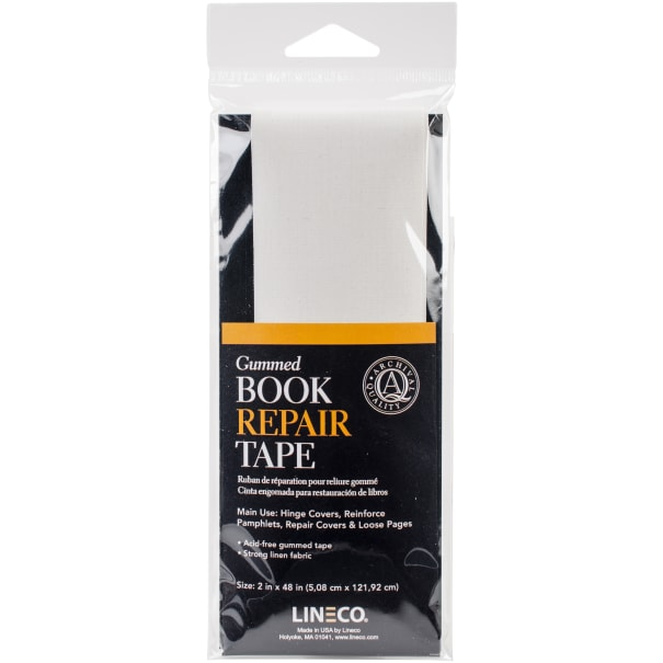 "Lineco Gummed Book Repair Tape-2""X48"""