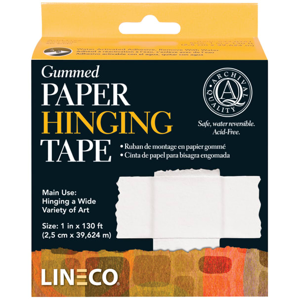 "Lineco Gummed Paper Hinging Tape-1""X130'"