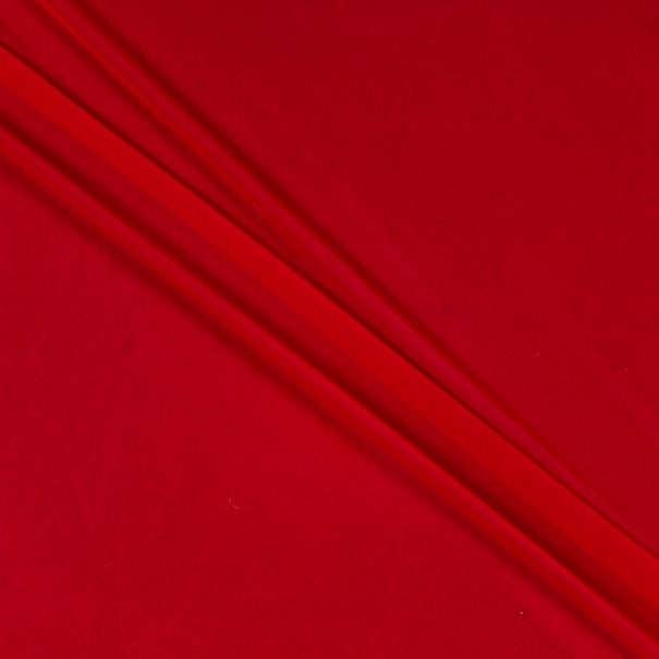 Power Stretch Mesh Fabric Red
