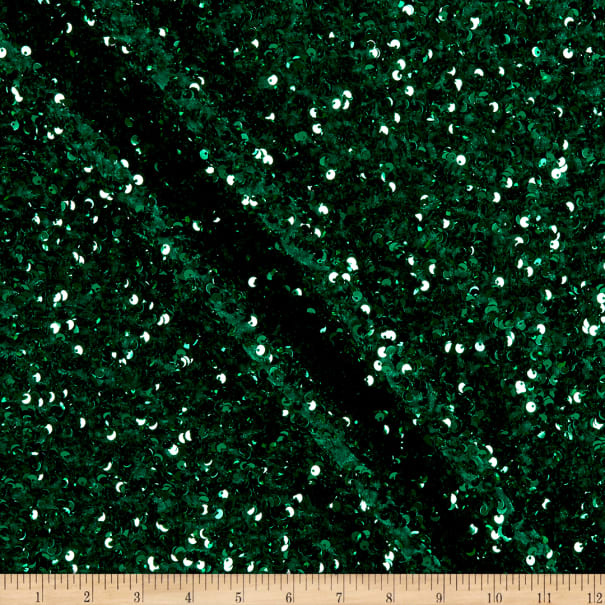 Selectra Plus Sequins Emerald