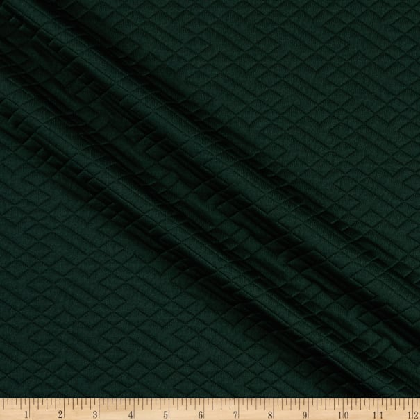 Telio Quilted Stretch Knit Hunter