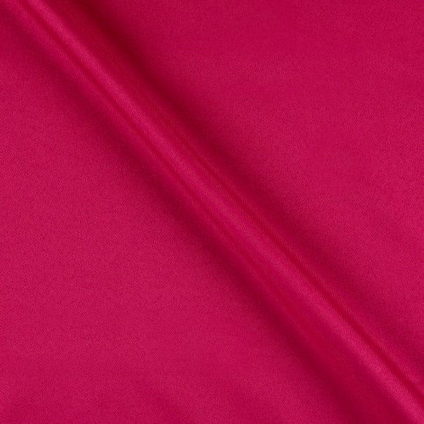 Polyester Twill Solid Magenta