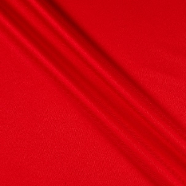 Polyester Twill Solid Red