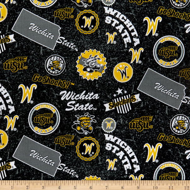 NCAA Witchita State Shockers Home State Cotton Multi