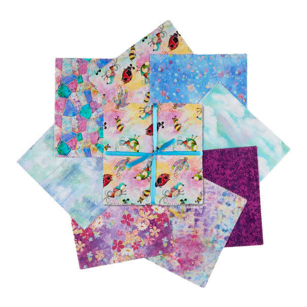 Fabric Editions In The Meadow 24Pc Charms