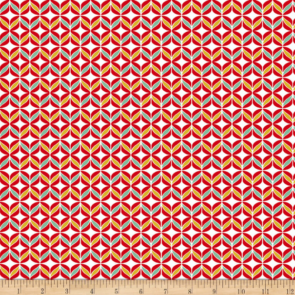 STOF France Quilting Cotton Polly Rouge