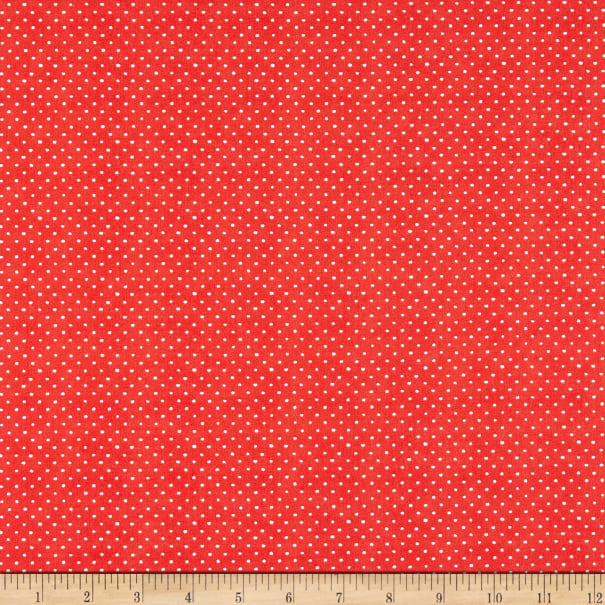 Wilmington Roots of Love Dots Red