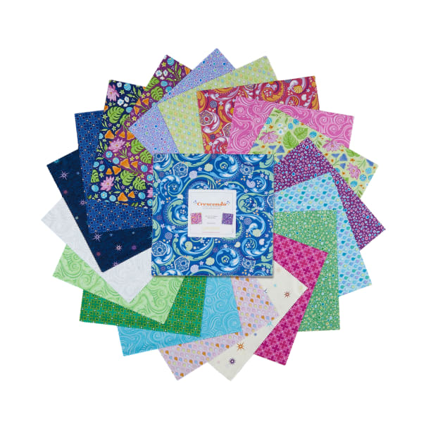 "Contempo Crescendo 10"" Squares 42pcs"
